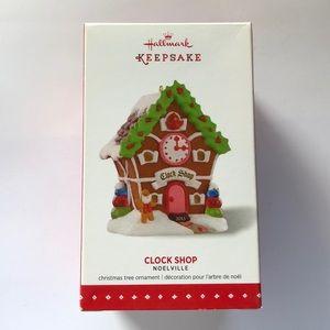 "Hallmark Noelville ""Clock Shop"" ornament"